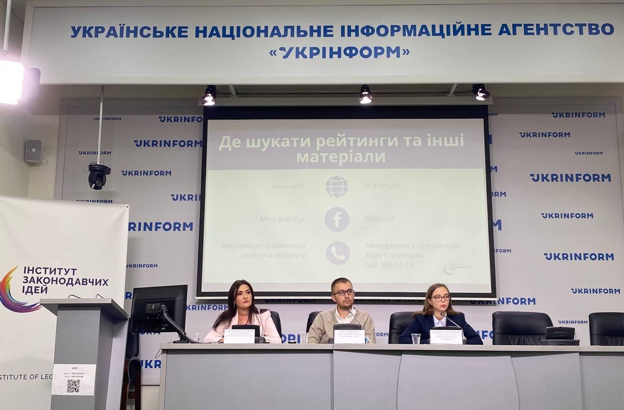Шмигаль, Бондаренко та Кравчук – перші в рейтингу авторів законопроєктів з корупційними ризиками (5 сесія ВРУ)?